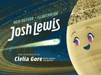 Big News! planets solar system kidlit kidlitart science picture book book space kids children illustration