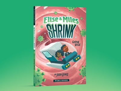 Elise & Miles 3 viruses typography kidlit kidlitart picture book book kids children illustration
