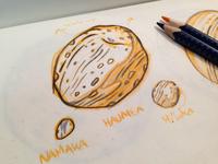 20 Haumea - Sketch