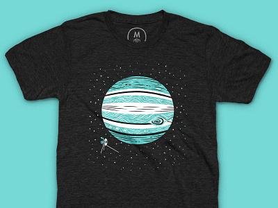 It's Back! Jupiter Shirt cotton bureau shirt t-shirt space solar system planets jupiter illustration