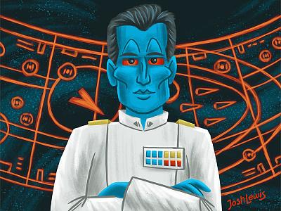 Grand Admiral Thrawn thrawn star wars kids children illustration