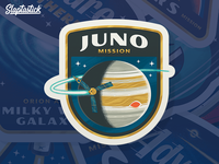 Juno Mission Sticker