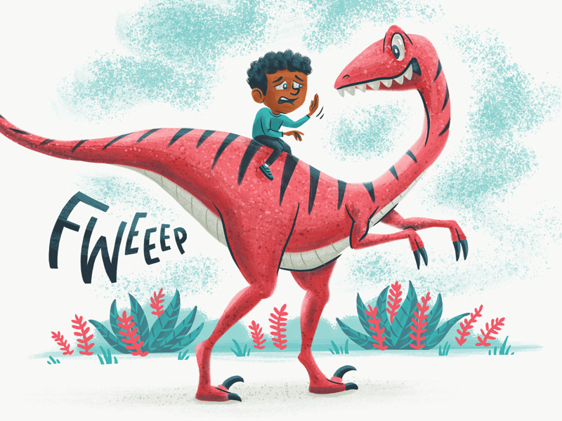 What Do You Call A Dinosaur Fart By Josh Lewis On Dribbble