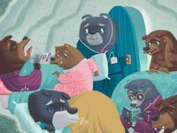 6 and 7 bears? 8 BEARS?!