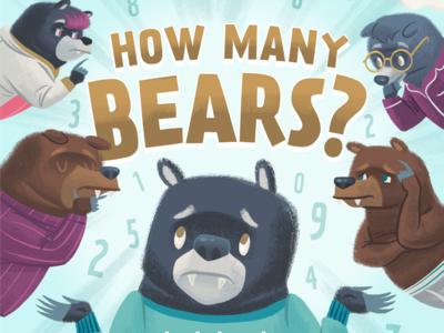 How Many Bears? Book