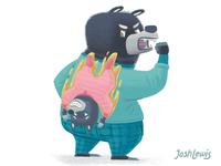 Bonus bear!