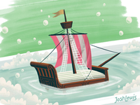 Bed Ship