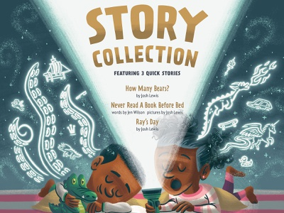 Story Collection kidlitart kidlit kids book imagination typography picture book book kids children illustration
