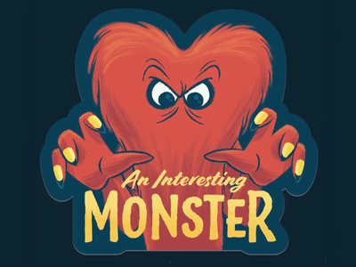 Gossamer sticker gossamer cartoons looney tunes kids children illustration