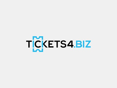 Logo for ticket booking service tickets booking ticket