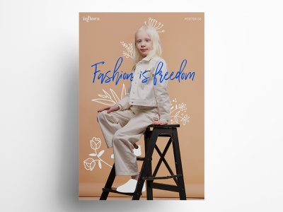 Shopping Mall Poster Design vol. 2 logo photography typography design fashion illustration catalogue branding graphic design