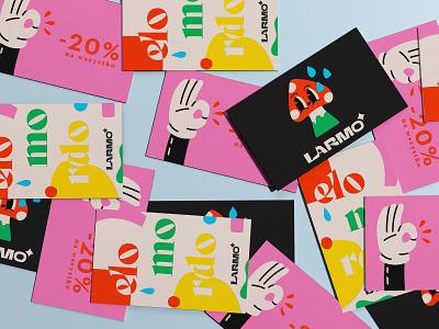 discount card fashion flat minimal typography logo design illustration branding graphic design