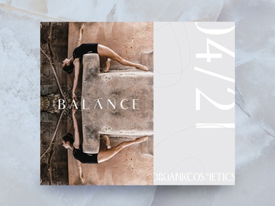 balance catalogue logo branding illustration fashion graphic design