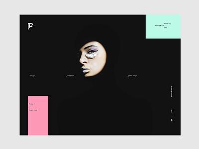Pauline_Paul graphic design web design branding