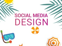 travel social media design