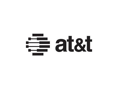 AT&T Swiss Style swiss design branding vector design redesign logo att