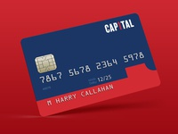 Capital One Card Design