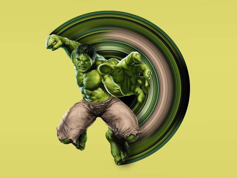 Hulk Pixel Stretch marvel avengers pixel stretch adobe photoshop hulk