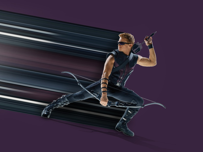 Hawkeye Pixel Stretch marvelcomics marvel pixelart avengers photoshop pixel stretch