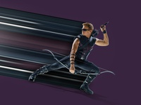 Hawkeye Pixel Stretch