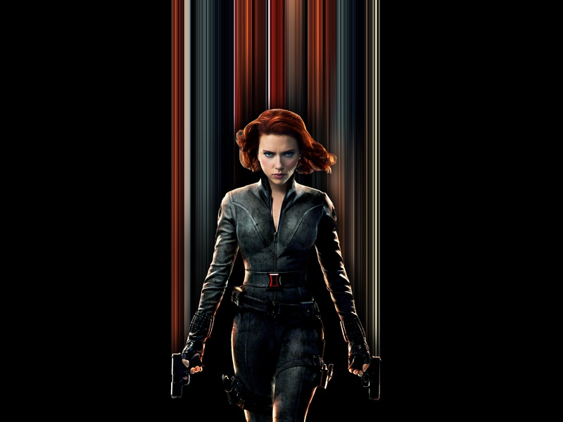 Black Widow Pixel Stretch design black widow photoshop pixel stretch avengers
