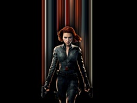 Black Widow Pixel Stretch