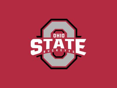 Ohio State Refresh refresh college design typography logotype football ohio state logo