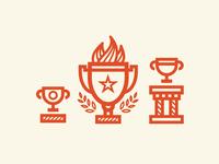 Participant, Champion, Winner