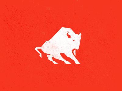 Another Buffalo?! icon identity bull buffalo mark branding illustration logo design