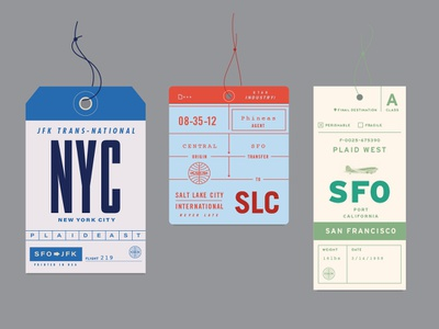 Plaiderdays Plaidam retro tickets airline