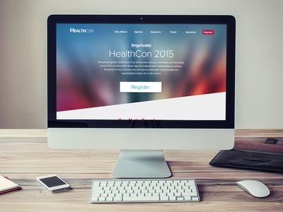 Healthcon microsite concept