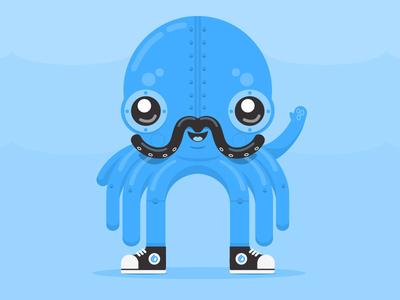 Punk the Robot Octopus