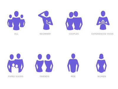 Demographic icons