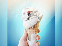 Ice Cream Skiing