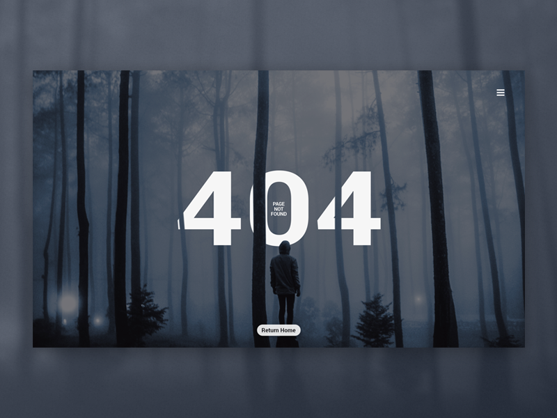 DailyUI 008 - 404 page ui challenge daily ui daily page web uiux ux ui photo interface background 404