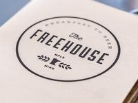 Freehouse Drink Menu