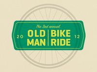 Old man bike ride