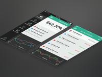 Banking App – Menu & Transactions