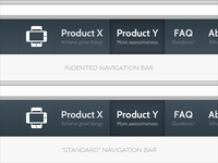 Website Navigation Bars