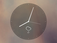 Minimal Clock Widget