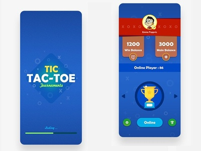 Tic-tac-toe Game design