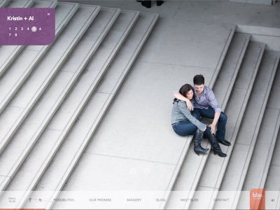 Bliss Pictures web screenshot fullscreen