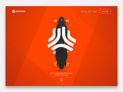 Daily UI #3 – Landing Page startup boosted board landing page ui daily ui
