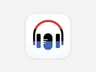 Daily UI #5 – App Icon ios microphone headphones radio npr app icon app daily ui