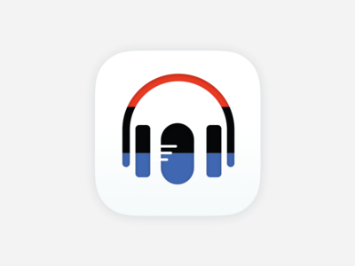 Daily UI #5 – App Icon ios microphone headphones radio npr app icon app daily ui