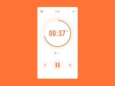 Daily UI #14 – Countdown Timer simple minimal countdown timer timer countdown app daily ui