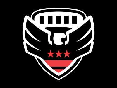 Tap In Guide - DC United Crest illustration icon tap in football dc united dc soccer mls
