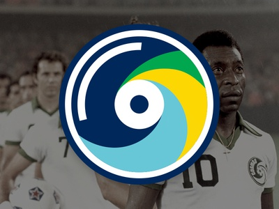 New York Cosmos Logo for Tap In Guide brazil pele football nasl cosmos new york cosmos soccer new york