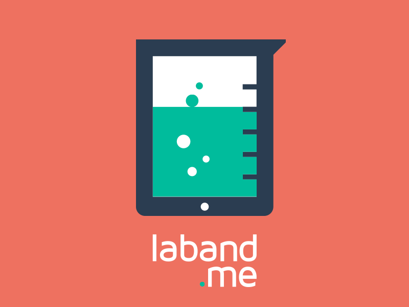LABAND.ME flat design red ui icon laboratory vector colorful retina cartoon turquoise green alizarin flat design ipad logo flatui minimal colors colour atrokhau simple logotype flat ui colors geometric blue midnight blue circle crisp