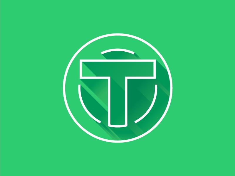 OPENTURK minimalist clean green minimal simple flat logo flat ui type typography crisp atrokhau